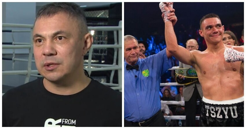 Константин Цзю объяснил, почему его сын не боксирует в России