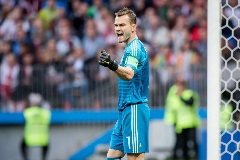 Игоря Акинфеева включили в топ-50 лучших вратарей мира за 30 лет
