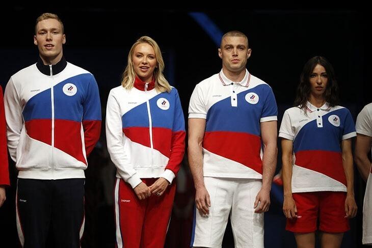 Zasport представила форму сборной России для Олимпийских игр в Токио