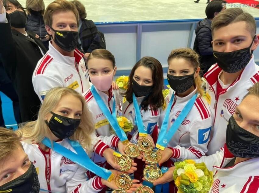 Российская сборная впервые в истории выиграла командный ЧМ по фигурному катанию
