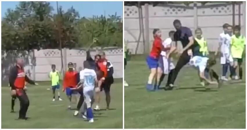 В Крыму передрались тренеры юношеских футбольных команд