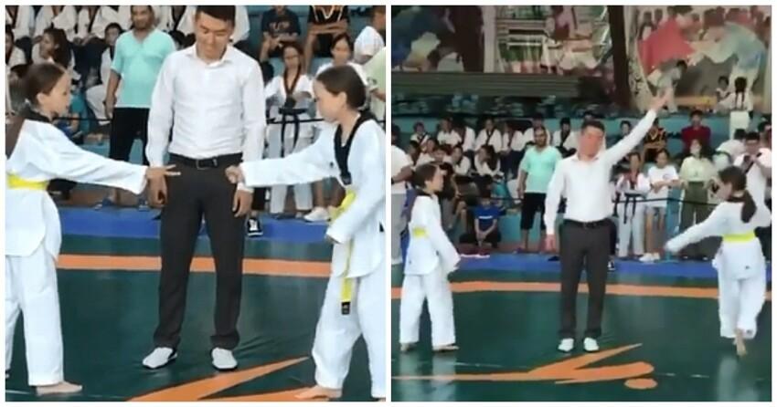 Сестры не стали драться с друг другом в финале турнира и по-своему определили победителя