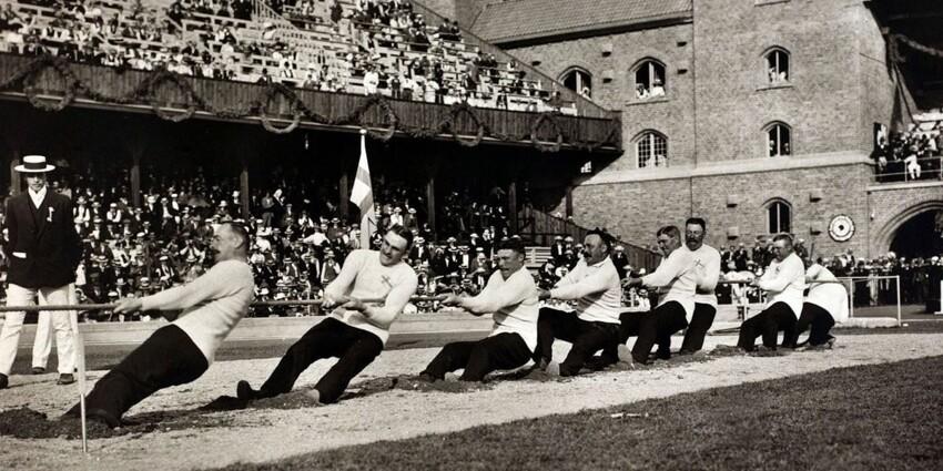 12 необычных соревнований, которые когда-то проводились на олимпийских играх
