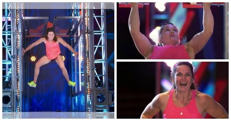 Девушка преодолела все испытания на шоу «American Ninja Warrior»