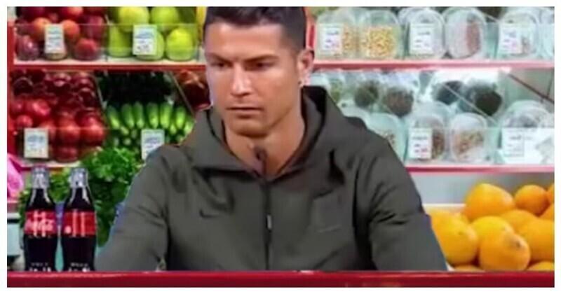 Если бы Роналду был кассиром в российском магазине