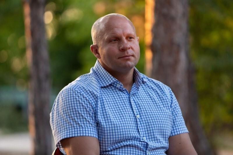 Федор Емельяненко собрался учиться на садовода