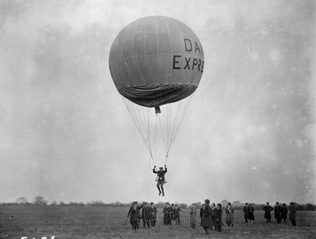 Прыжки с воздушным шаром